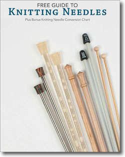 This is the ultimate, FREE guide to everything knitting needles.