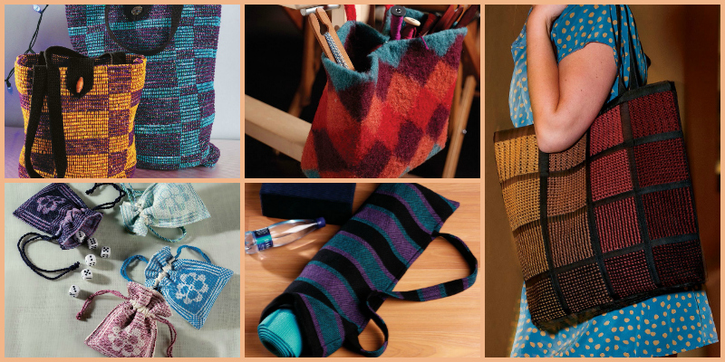 How to Make Woven Bags with 4 Free Woven Bag Projects: Broken Looms and Big Ideas