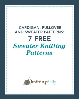 Free sweater knitting patterns you'll love to knit.