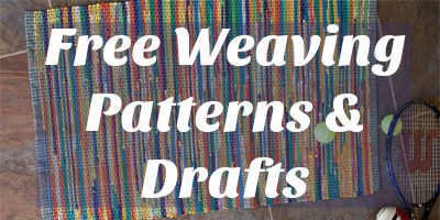 Free weaving patterns and drafts for you!