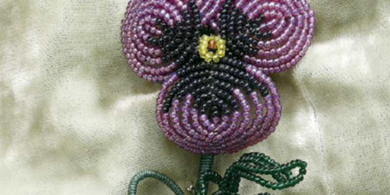 How to Make Beaded Flowers: The French Beaded Flower Way