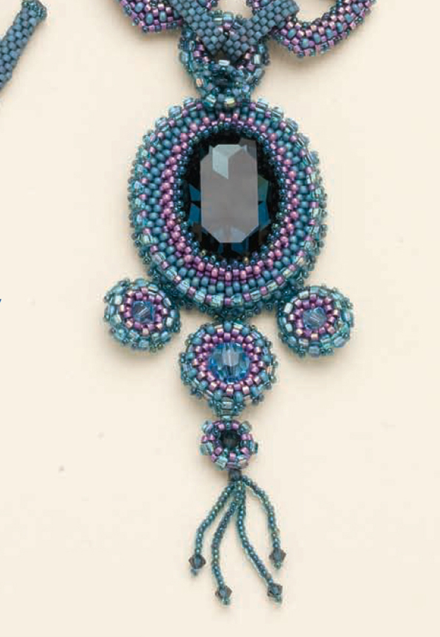 seed bead bezels, Joshephines Collar, Jill Devon, How to Bezel with Seed Beads Bundle, seed beads, bezel with seed beads, peyote, back stitch
