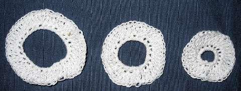 Circle motif sizes