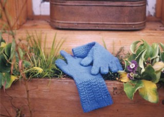 Knitting Garden Gloves