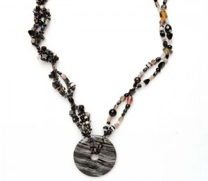 The Stone Soup is a gemstone bead necklace project found in our free Gemstone Jewelry Projects eBook.