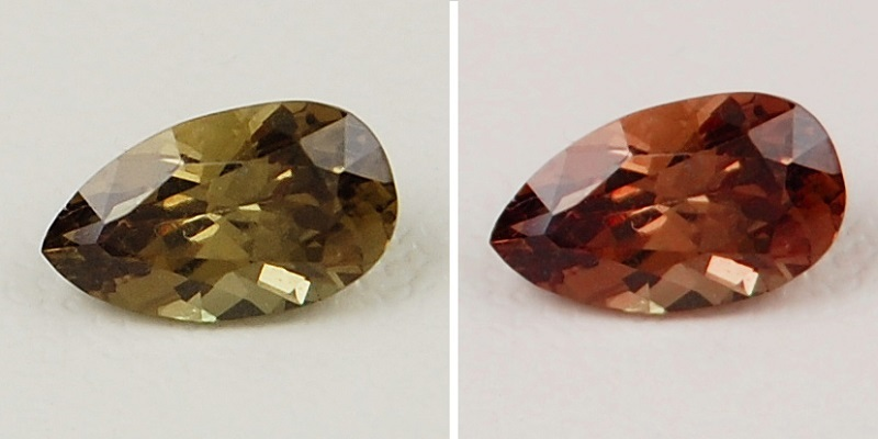 gemstones: color-change garnet