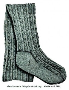 This Gentleman's Bicycle Stocking was designed in the Victorian era but is as timeless as ever today. Master classic knitting and needlework techniques with this handy eBook!