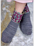 Granddaughter Socks Crochet Pattern.