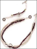 Great Lengths Necklace uses detachable extension to increase the length.