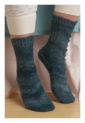 Kristi Schueler's Green Lake Socks