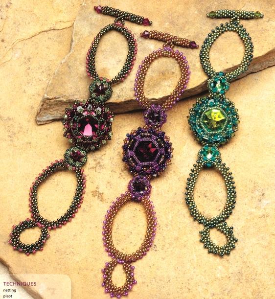 Gypsy Gem Bracelet, Kelly Wiese, Beadwork, Oct/Nov 2011
