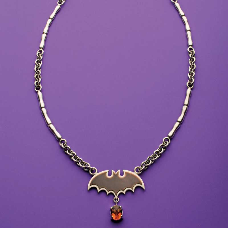 5 Favorite Jewelry Making Projects That Surprise Us, Halas bat necklace