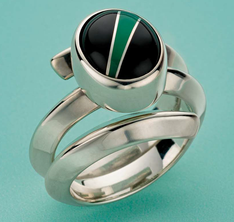 jewelry designs ring by Roger Halas