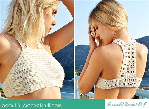 Crochet Halter Top Free Pattern Interweave