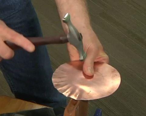 form metal Fretz hammer