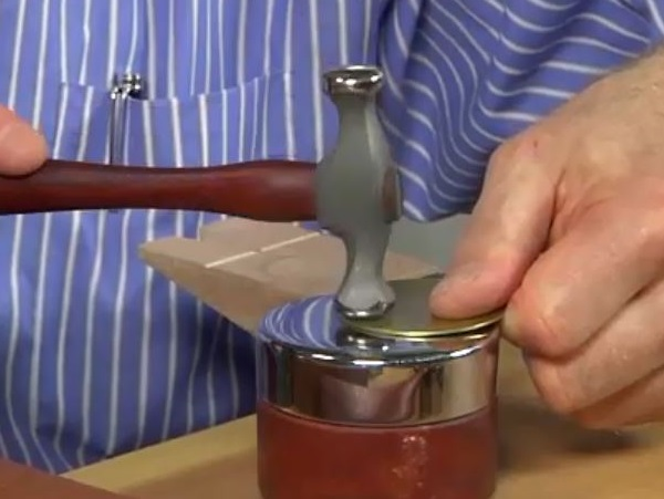 metalsmithing tips from Bill Fretz - start with a domed blank