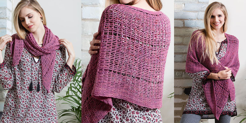 POW: Hammock Shawl by Lisa Doherty