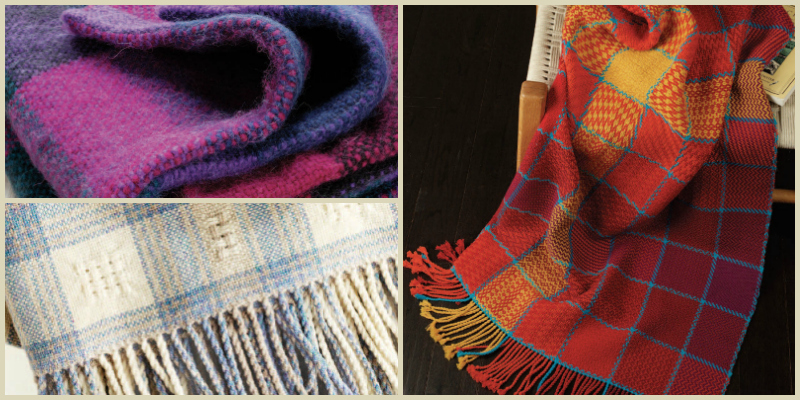 Beautiful Handwoven Blankets: Free Projects to Make Woven Throws for All Seasons