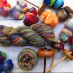 Her Handspun Habit: What to Knit With Frankenskein Handspun Yarn