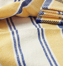 Learn to weave a handwoven towel with this step-by-step instructions.