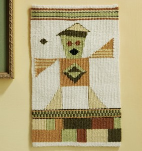 Learn how to make a hanging wall tapestry in this free DIY tapestry weaving book.