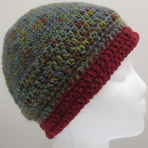 crochet hat liner