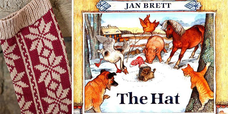 POW: Hat Stocking Kit inspired by Jan Brett