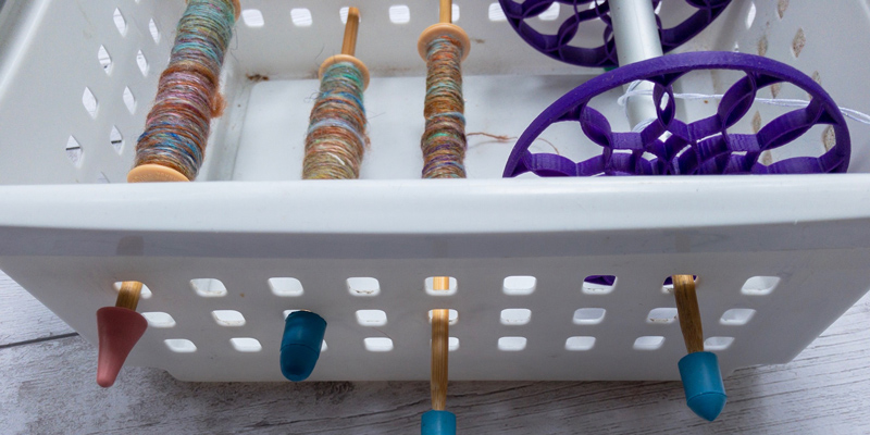 Her Handspun Habit: Plying Yarn From Spindles (Part II)