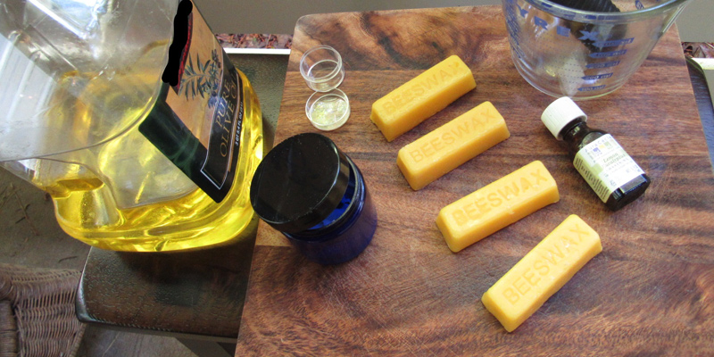 Her Handspun Habit: Getting Buff For Spring With DIY Wood and Spinning Wheel Conditioner
