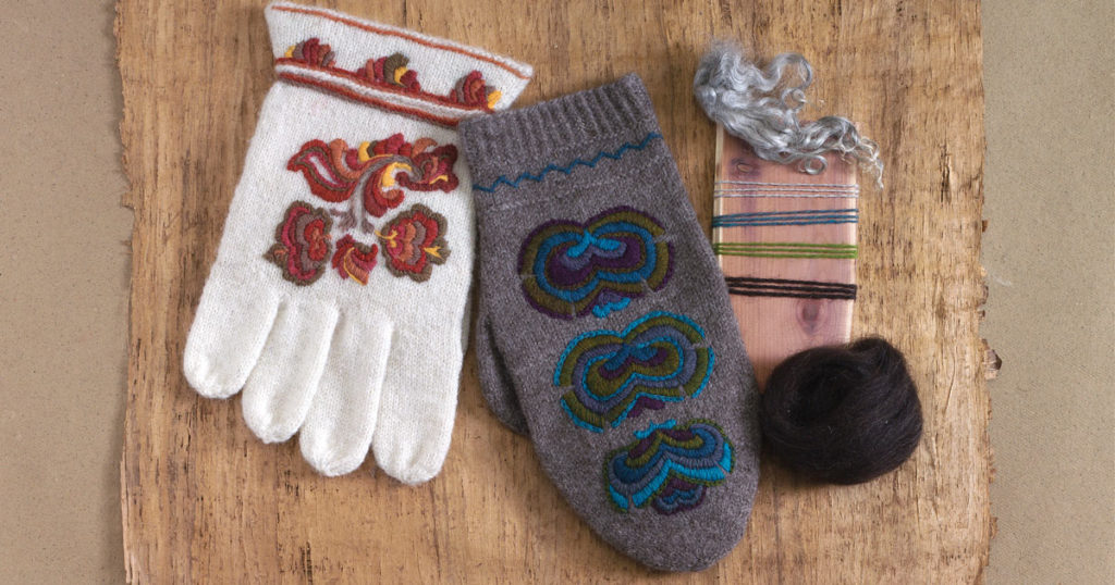 Kate Larson and the Secret Language of Norwegian Mittens