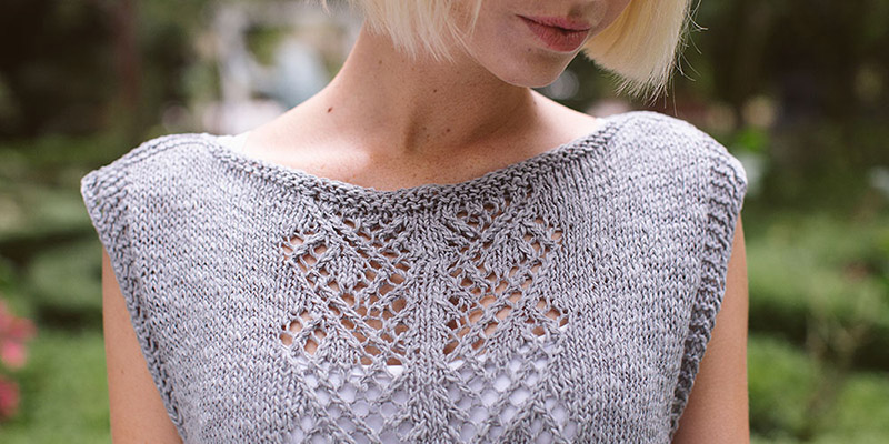 Puck's Tunic from Interweave Knits Summer 2017