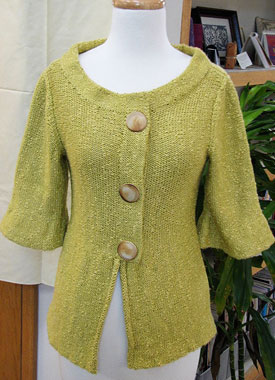 Knitting Gallery - Holly Jacket Bertha