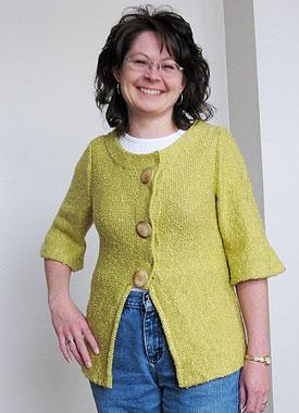 Knitting Gallery - Holly Jacket Debbie