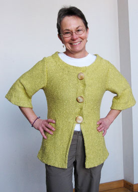 Knitting Gallery - Holly Jacket Trish