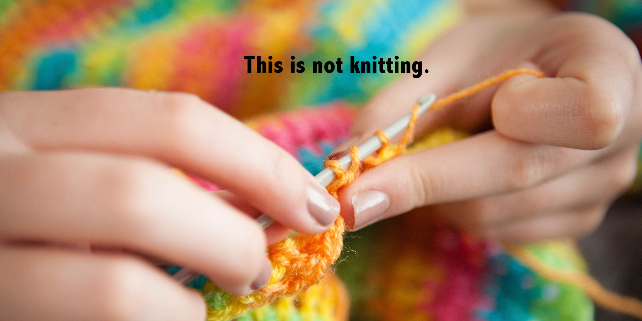 knitting wrong