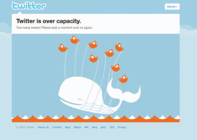 This photo is of an error page found on Twitter's website. Our free How to Sell Jewelry eBook will give readers the necessity of having a strong twitter presence for their jewelry business.