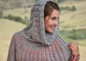 Learn how to crochet this hooded cowl in our FREE eBook on crochet cowls patterns.
