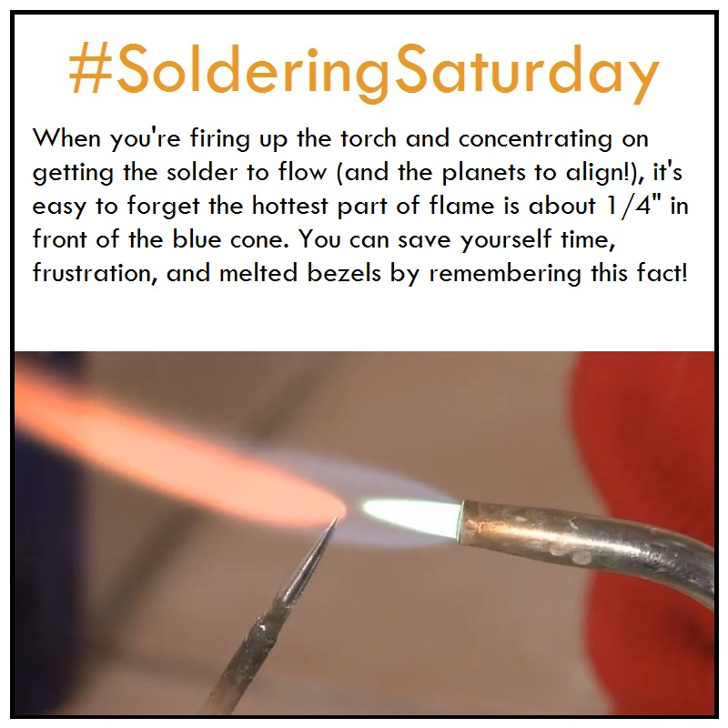 Soldering Tip: Where's the Hottest Part of the Flame