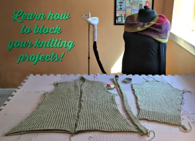 Every serious knitter needs to know blocking knitting and the different wet-blocking techniques that goes with it. This free advice article tells you everything you need to know about how to block knit.