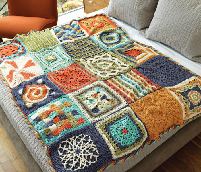 Crochet Afghan Patterns How To Modify Afghans To Any Size Interweave