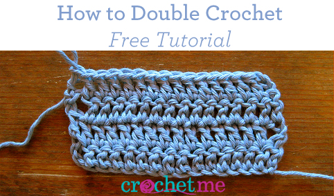 Double Crochet free tutorial