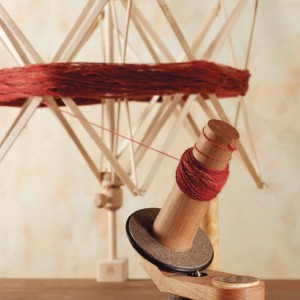 Learn how to make a ball of yarn in this beginner spinning eBook on how to make yarn.