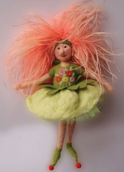 Learn how to make a felt doll in this FREE guide on preparing and felting fiber and yarn.