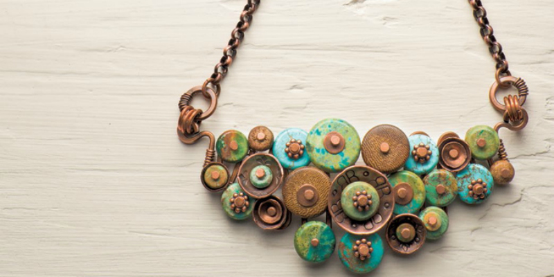 How to Make a Necklace: Create Pendants in Mokume Gane, with Bezel-Set Stones and More