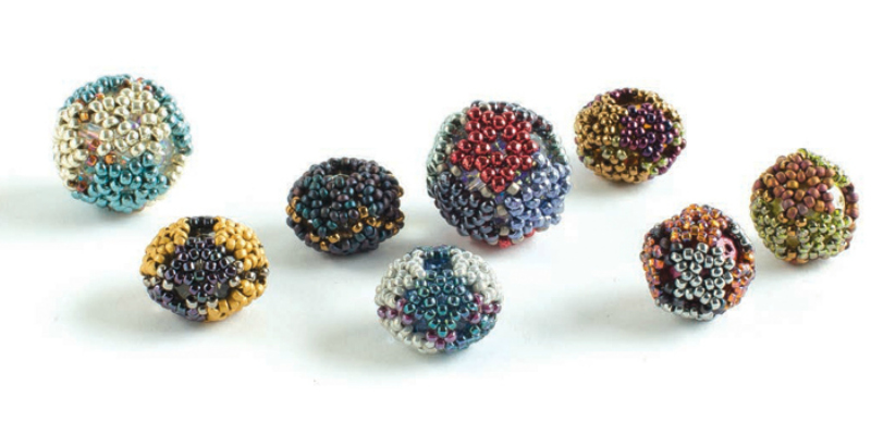 Free Projects on Beaded Beads: Which Came First: The Bead, or the Beaded Bead?