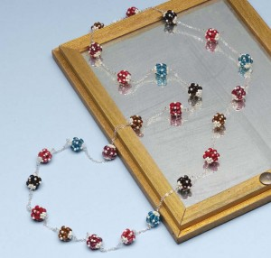 Learn how to make beaded beads in 10 minutes in this free beading project.