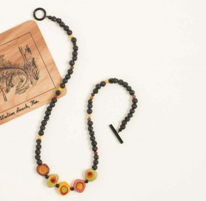 Learn how to make a beaded necklace in this FREE eBook on learning how to bead.