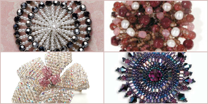 Learn how to make brooches with beads in this exclusive, FREE tutorial from Interweave.