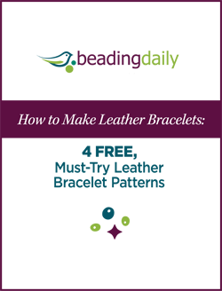 Learn how to make leather bracelets with these 4 FREE projects.
