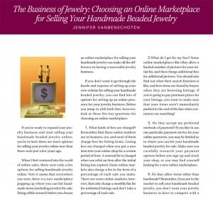 Learn how to sell your jewelry online like a pro in this free ebook.